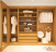 Create great sotrage with a fitted walk in wardrobe
