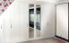 Wardrobes built to fit the space