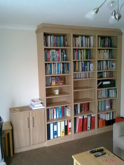 Office book shelving