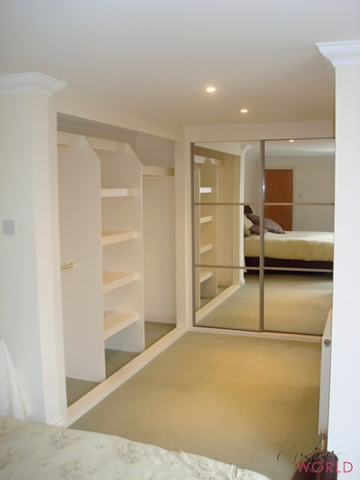 Interiors for sliding wardrobes