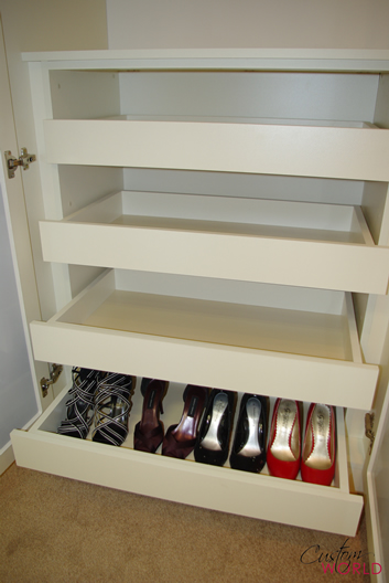 Interior drawer unit