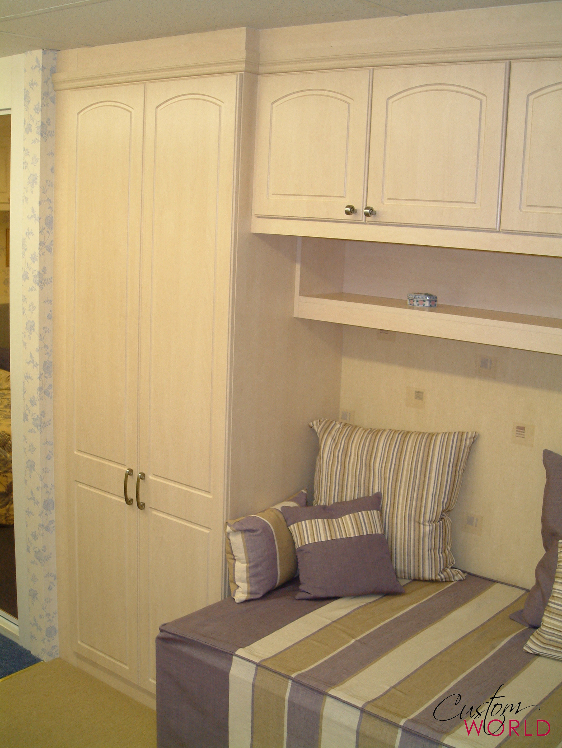 Bespoke cabin bed made to fit most small rooms