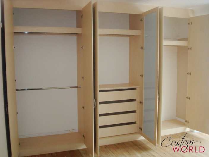 Fitted wardrobe interiors