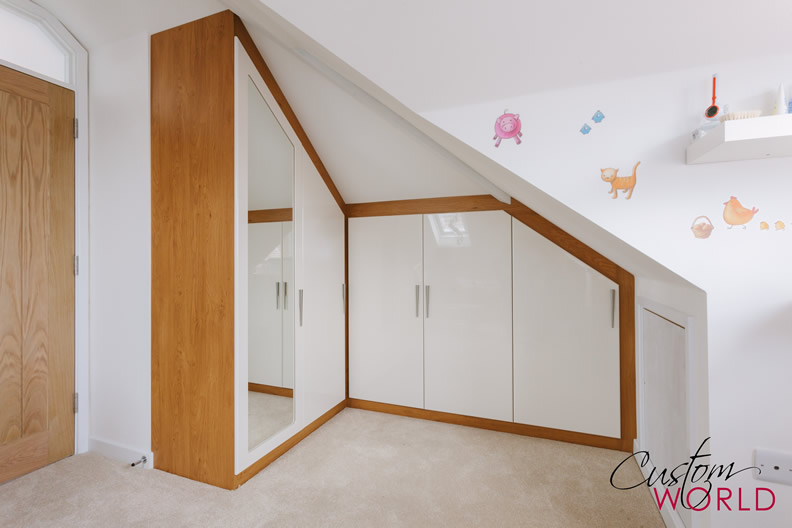 Angled Rooms And Sloping Ceilings Custom World Bedrooms