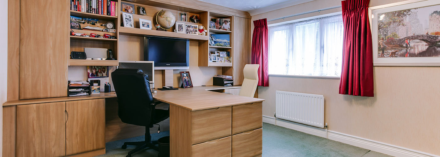 We also do home offices!