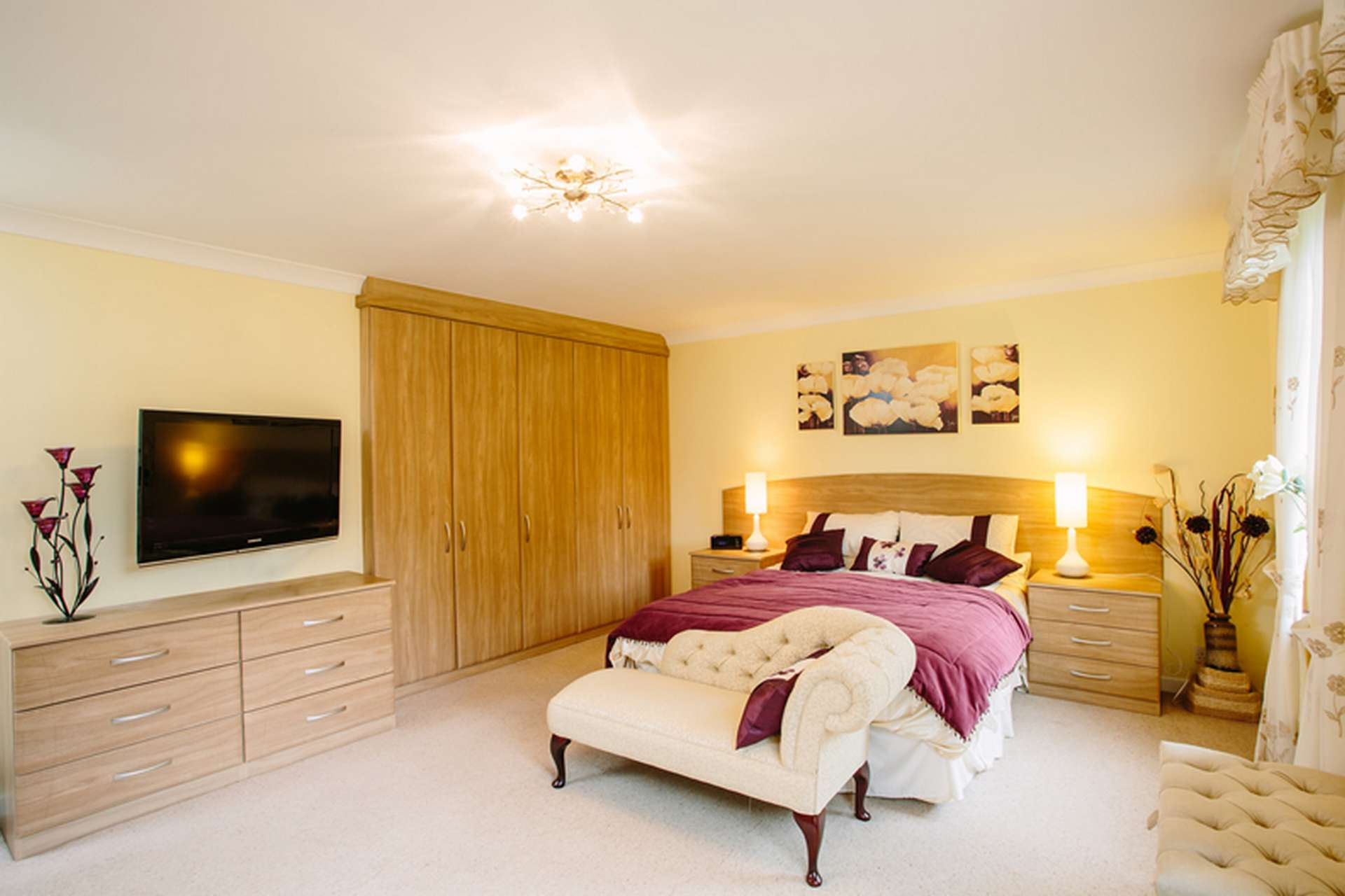 Fitted hinged door wardrobes