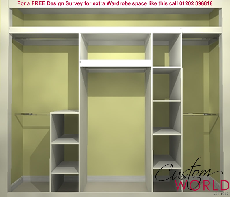 Storage solutions fitted bedroom storage ideas custom world - Wardrobe solutions for small spaces paint ...