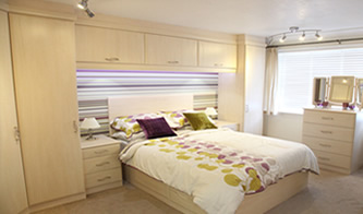 Fitted bedroom furniture Hampshire