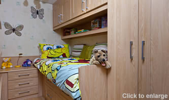 Box Room or Childrens Bedroom Cabin Bed