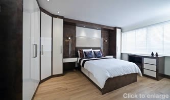 Fitted Furniture Corfe Castle Dorset | Sliding door wardrobes