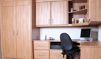 home offices fitted furniture fitted home office furniture save space gain storage