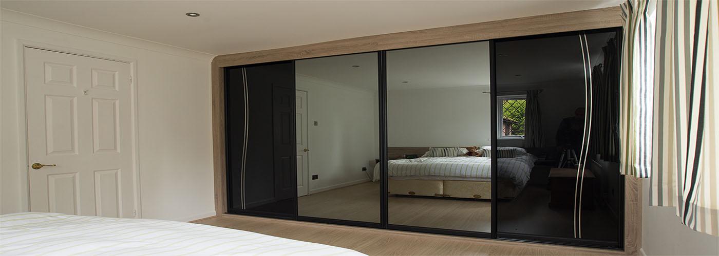 Sliding door wardrobes from just £795
