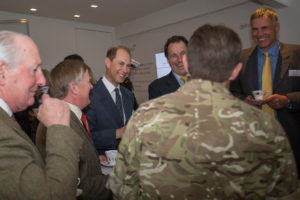 Russell Bowyer MD of Custom World meets HRH The Earl of Wessex