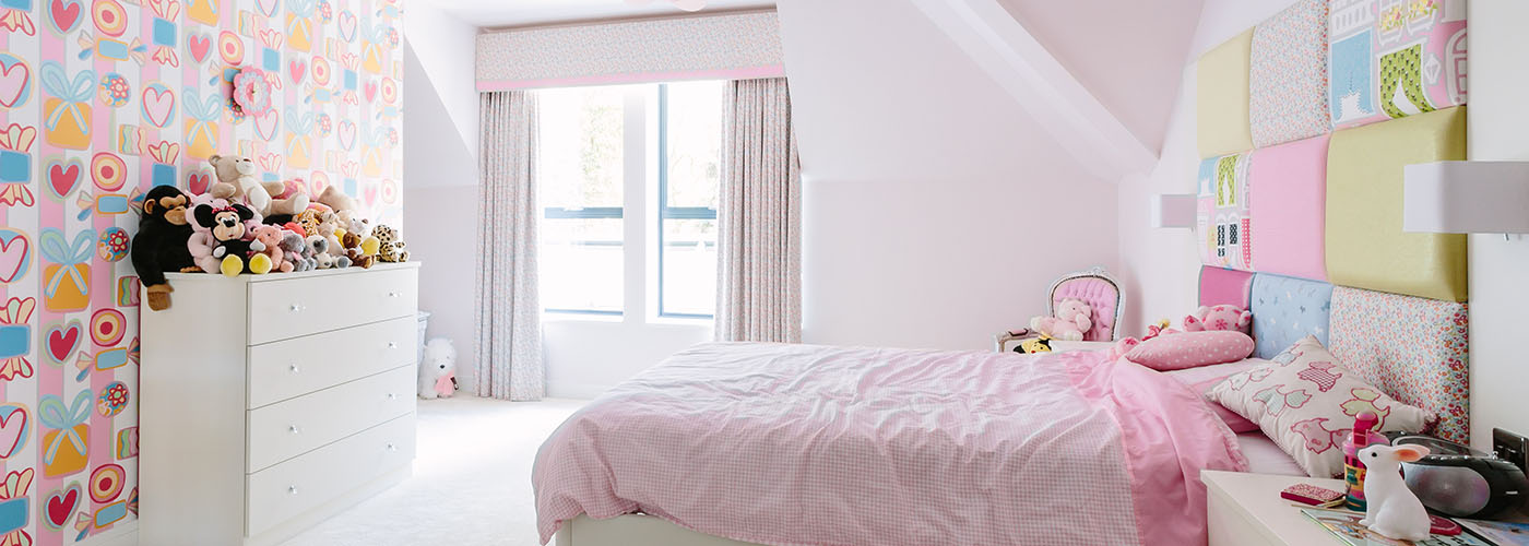 Bespoke solutions for children bedrooms