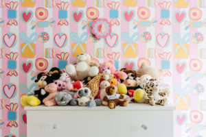 A lovely image of bespoke chest of drawers with teddies for 2014