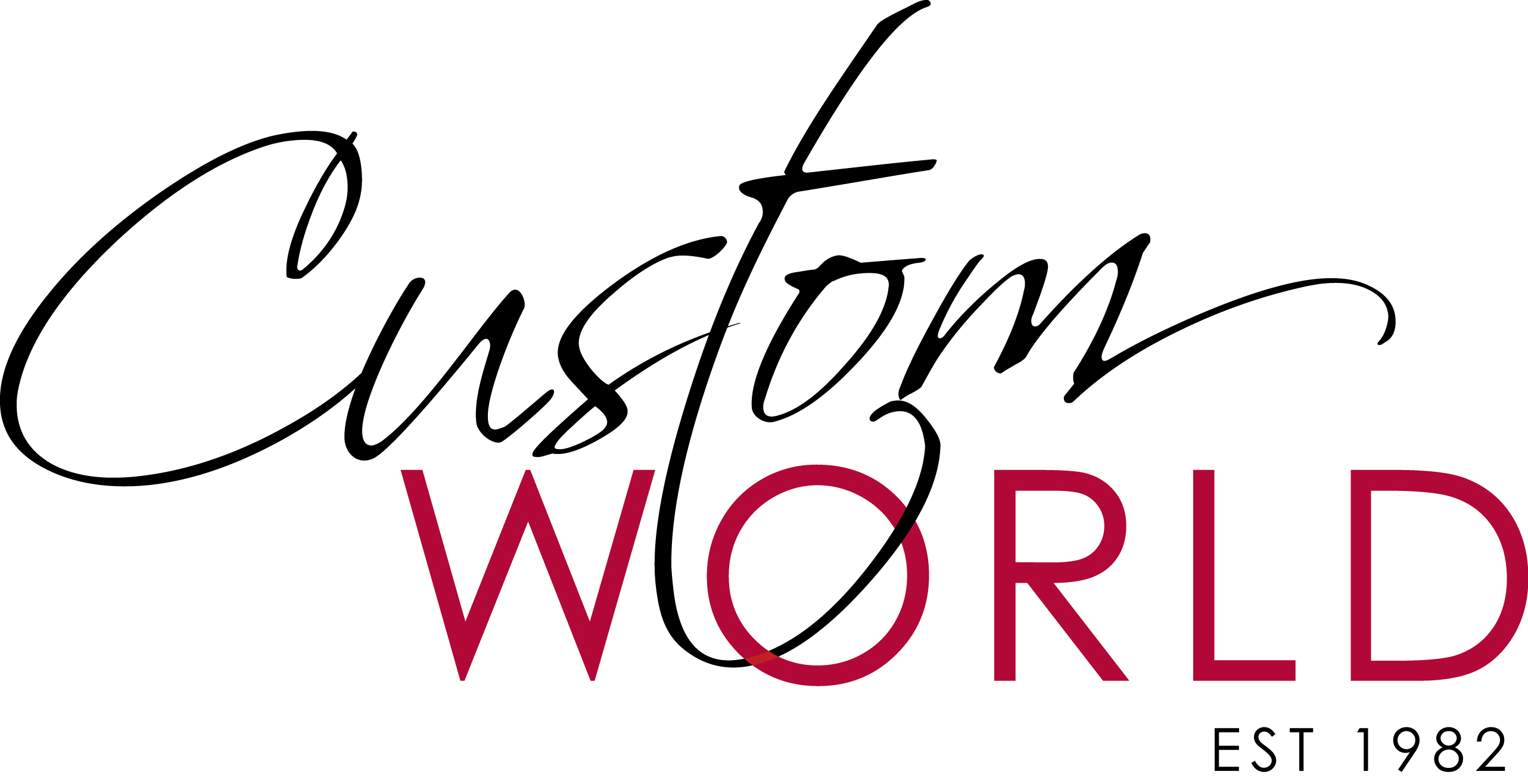 Custom World - Our new logo ready for another 30 years