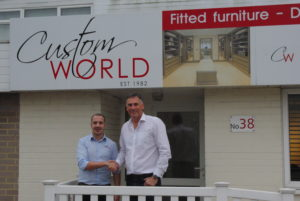 Khalid Sreti, Custom World's New Production Manager with Russell Bowyer, Managing Director