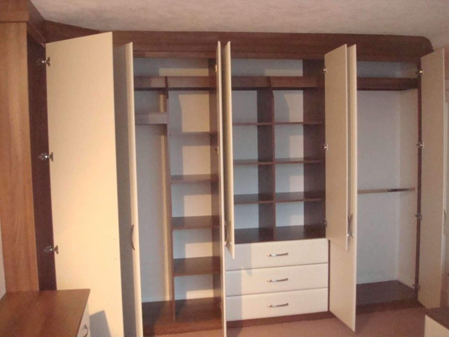 Oodles of storage in either hinged wardrobes or sliding wardrobes