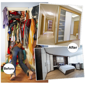 Spring clean your wardrobe - fitted furniture