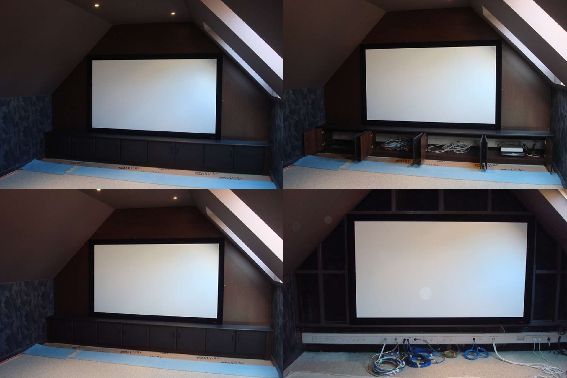 Full sized In home cinema room