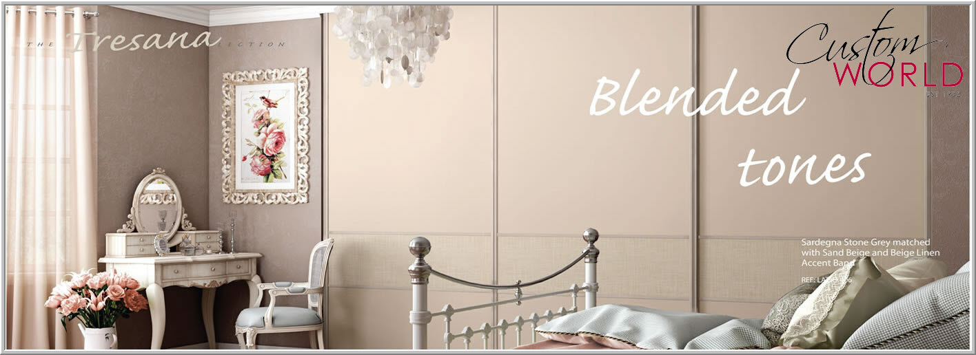 NEW TRESANA Sliding door wardrobes collection