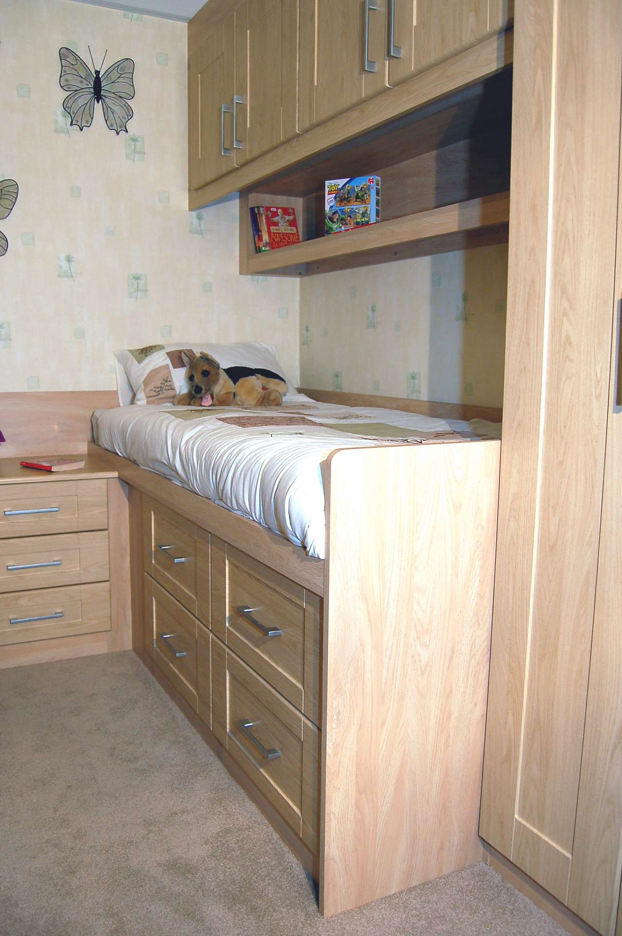 Cabin Bedroom Fitted Furniture: Childrens Cabin Beds With Wardrobes; Childens Storage