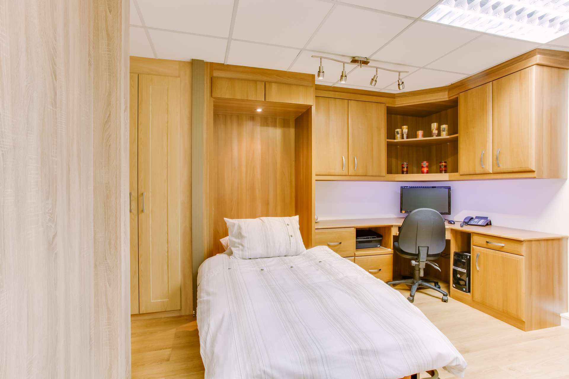 Fold away beds from Hideaway built-in to our fitted furniture